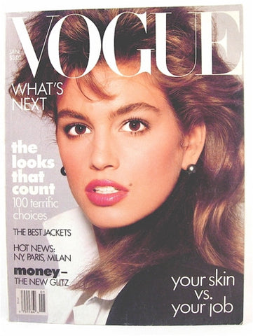 Vogue Magazine January 1987