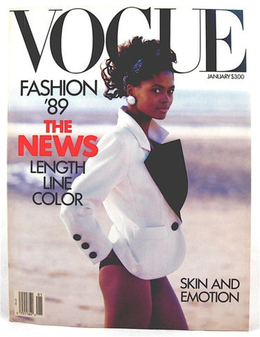 Vogue Magazine January 1989