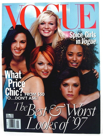 Vogue Magazine January 1998