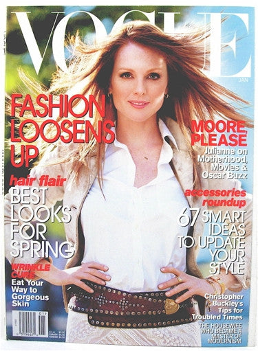 Vogue Magazine January 2002
