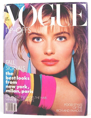 Vogue Magazine July 1987