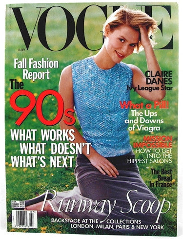 Vogue Magazine July 1998
