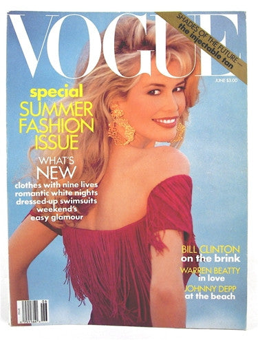 Vogue Magazine June 1992