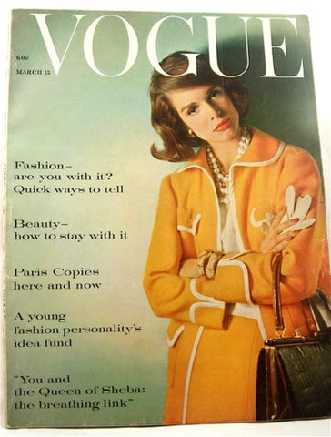 Vogue magazine March 15, 1960
