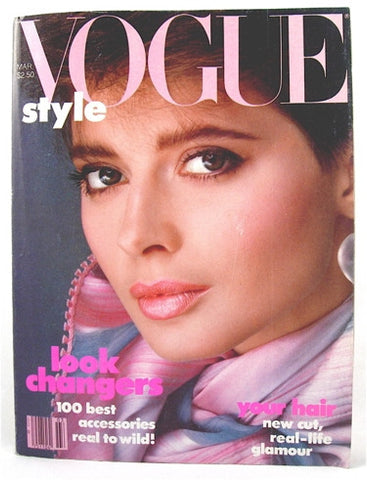 Vogue Magazine March 1982