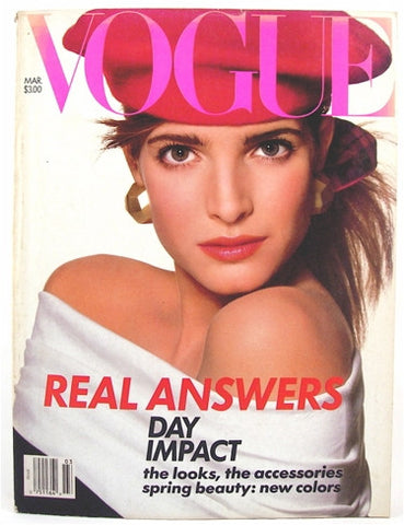 Vogue Magazine March 1988