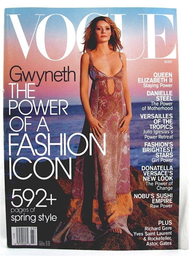 Vogue Magazine March 2002
