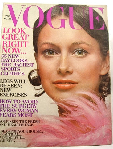 Vogue magazine October 15, 1970