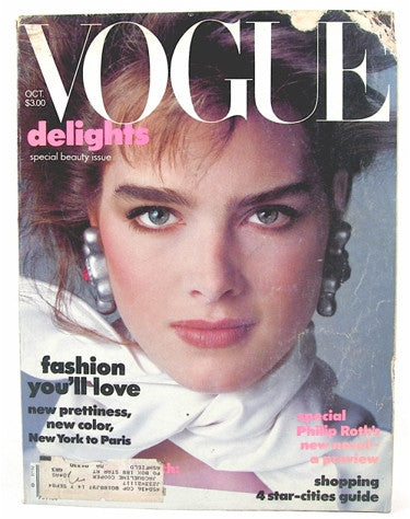 Vogue Magazine October 1983