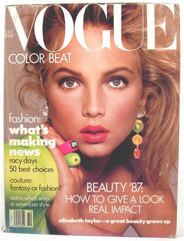 Vogue Magazine October 1987