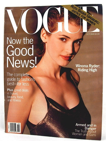 Vogue Magazine October 1993