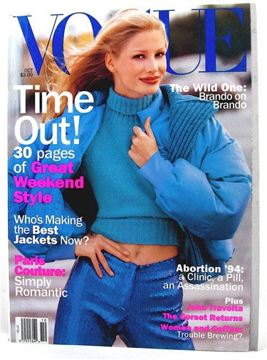 Vogue Magazine October 1994
