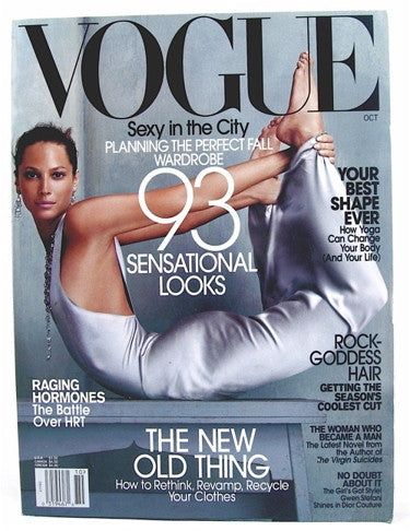 Vogue Magazine  October 2002