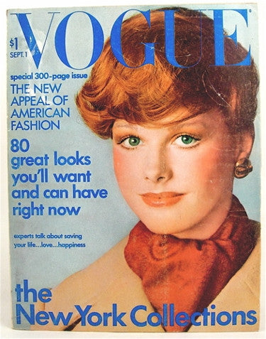 Vogue Magazine  September 1, 1971