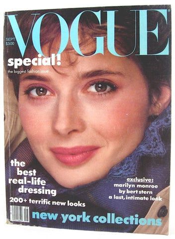 Vogue Magazine September 1982