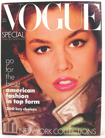 Vogue Magazine September 1987