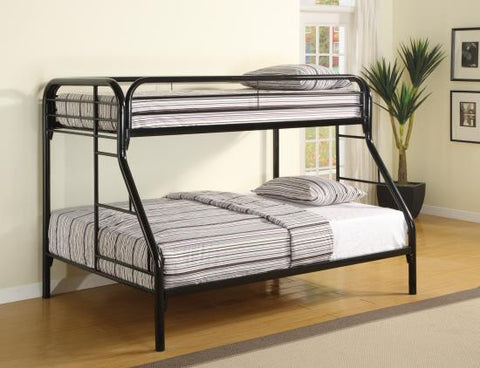Twin Over Full Bunk Bed With Mattresses
