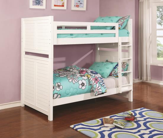 Edith Twin/Twin BunkBed with trundle and Mattresses