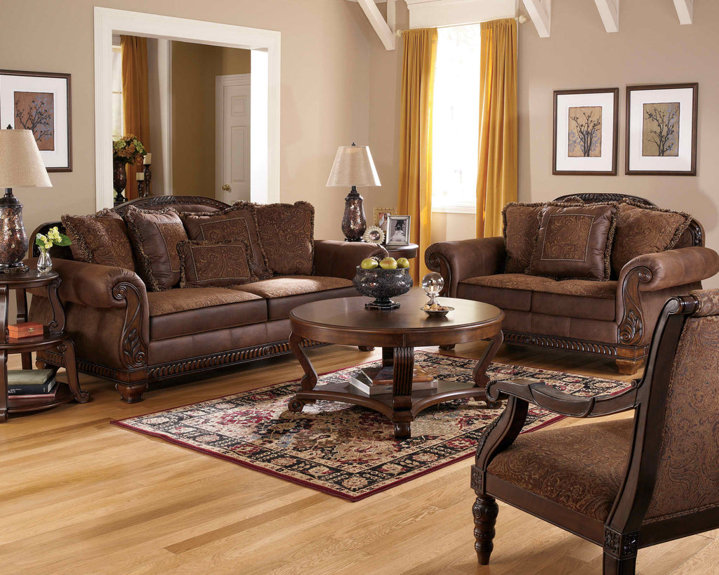 Bradington-Truffle Living Room Collection