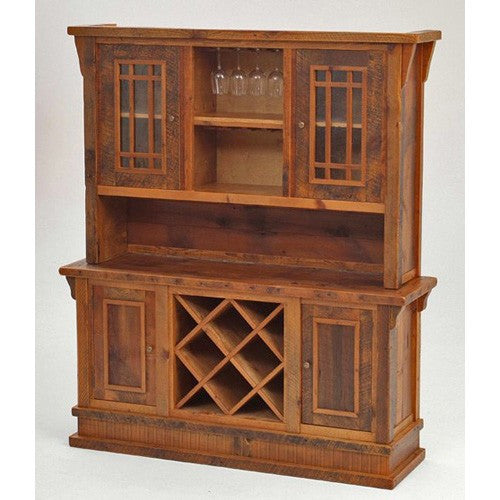 STONY BROOKE – ENTRY WAY HUTCH WITH WINE RACK AND WINE GLASS HOLDER