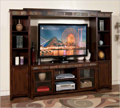 Santa Fe Entertainment Wall, 4/pc set