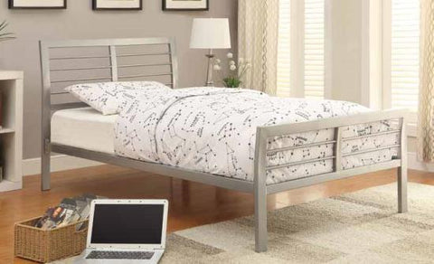 Logan Metal Bed frame available in   twin - queen size