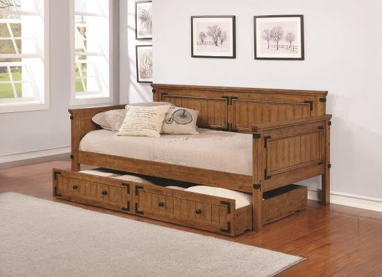 Coronado Daybed with Trundle and mattresses