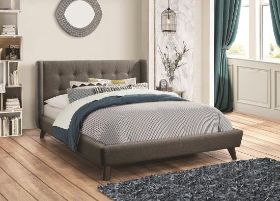 Carrington Upholstered Bed frame available twin size - king size