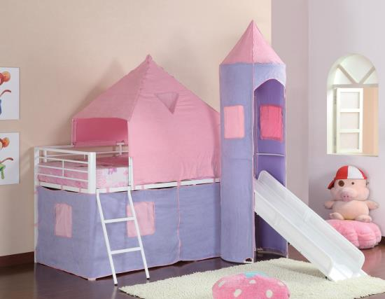Princess Castle Bed twin size with mattress