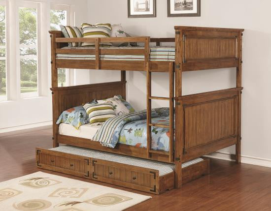 Full/Full Bunk Bed with Mattresses #460118