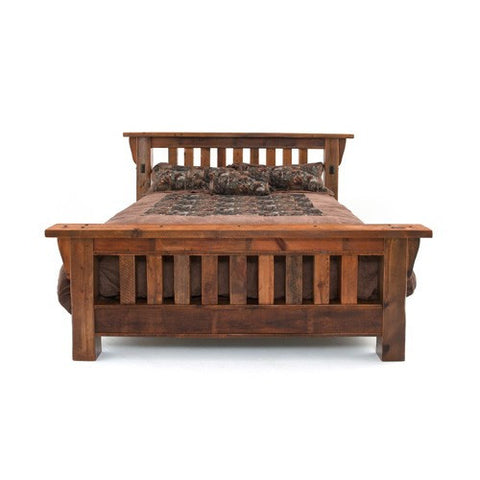 Cal King Stony Broke Royal Timber Bed