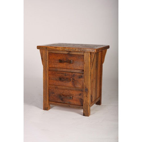 STONY BROOKE – 24 X 30, 3 DRAWER NIGHTSTAND WITH CORBELS