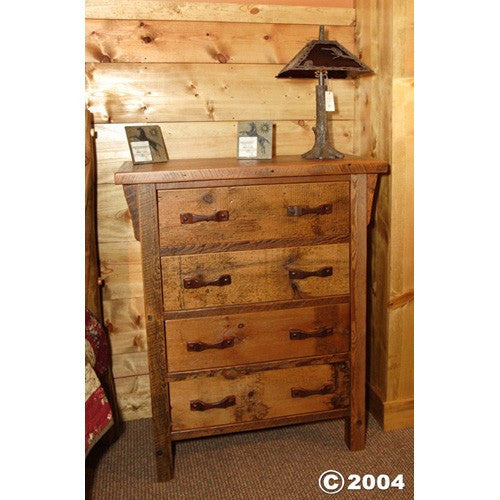 STONY BROOKE – 4 DRAWER UPRIGHT DRESSER