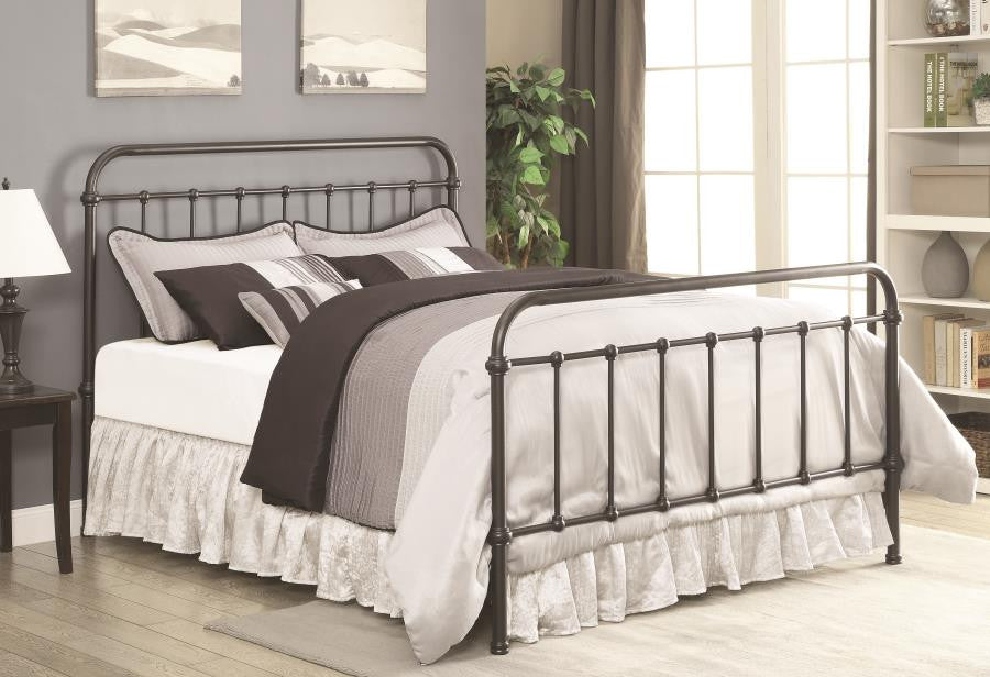 Livingston Metal Bed Frame available twin - king size
