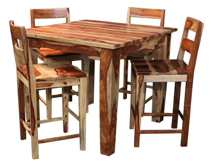 Tahoe 5 Piece Counter Height Table Set