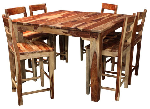 Tahoe 7 Piece Counter Height Table Set