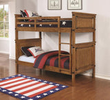 Coronado Bunk Bed with Trundle and mattresses #460116,300676