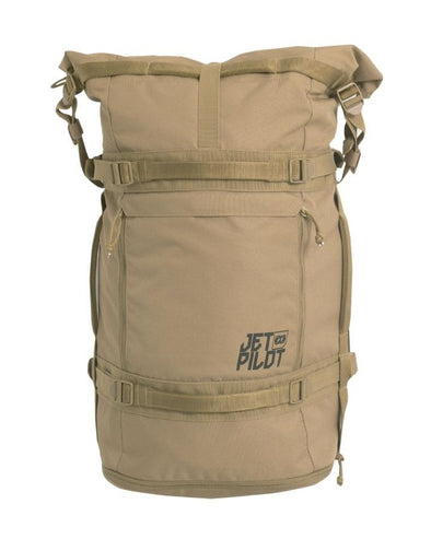 JETPILOT VENTURE 36L BACKPACK KHAKI