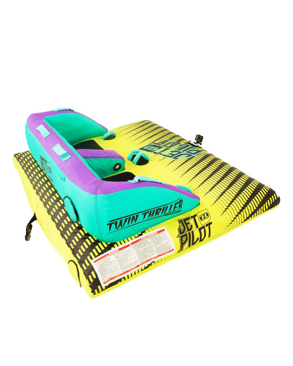 JETPILOT TWIN THRILLER 2 MULTI  TOWABLE LIME/PURPLE