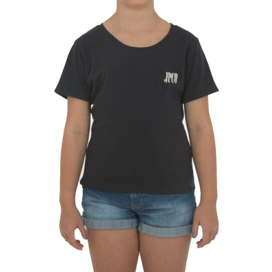 JETPILOT JPCO YOUTH GIRLS TEE CHARCOAL
