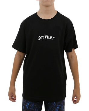 JETPILOT VIPER YOUTH TEE BLACK
