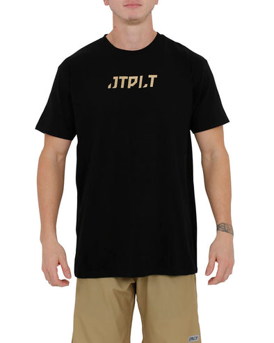 JETPILOT GOLDEN MENS TEE BLACK