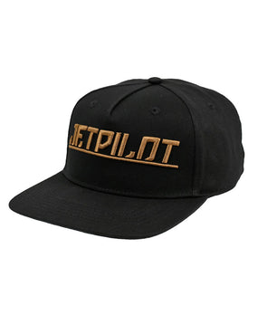 JETPILOT GOLDEN MENS CAP BLACK