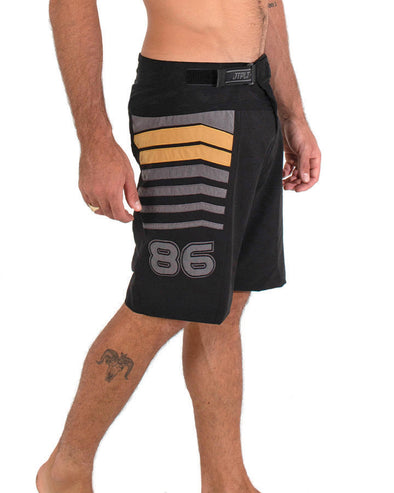 JETPILOT ORBIT MENS BOARDSHORT BLACK/GOLD