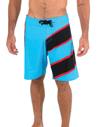 JETPILOT SIDESWIPE MENS BOARDSHORT BLUE/BLACK