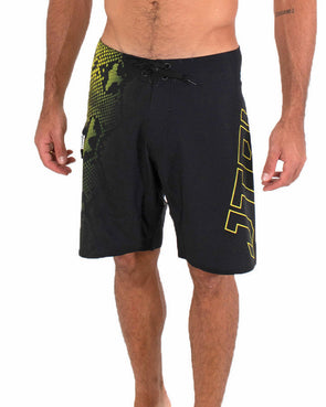 JETPILOT PYTHON MENS BOARDSHORT BLACK/YELLOW