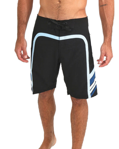 JETPILOT OZ SCALP MENS BOARDSHORT BLACK/BLUE