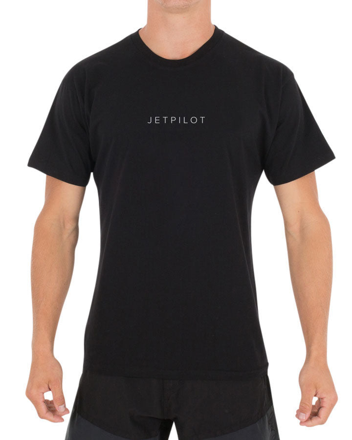 JETPILOT CAUSE MENS TEE BLACK