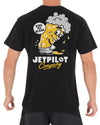 JETPILOT KISS MY MENS TEE BLACK