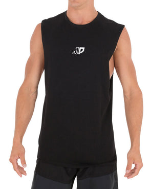 JETPILOT CHARIOT MENS MUSCLE BLACK/WHITE
